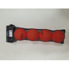 Мяч мини тренировочный BAUER 4 шт (оранж)