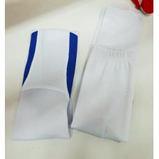 Гетры сублимация бело-синие