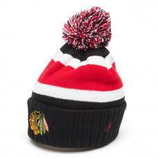 Шапка NHL CHICAGO BLACK HAWKS с помпоном