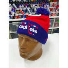 Шапка NHL WASHINGTON CAPITALS с помпоном
