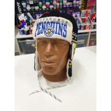 Шапка NHL PITTSBURGH PENGUINS ушанка вязаная